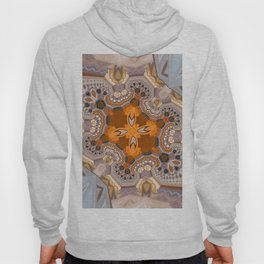 Abstract autumn with artistic mushrooms Hoody