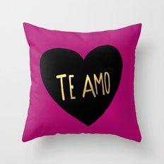 Te Amo II Throw Pillow
