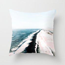 Pink Sand #society6 #decor #buyart Throw Pillow