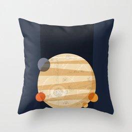 Except Europa Throw Pillow