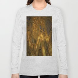 Golden Light Cathedral Long Sleeve T-shirt