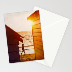 Walk Along The Beach Stationery Cards