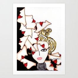 Sick Silence Art Print