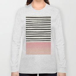 Blush x Stripes Long Sleeve T-shirt