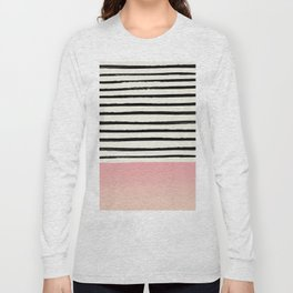 Blush x Stripes Long Sleeve T-shirt