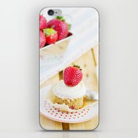 dessert iPhone & iPod Skins featuring DESSERT by Ylenia Pizzetti