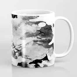 Blk Marble Coffee Mug