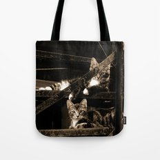 Back street Cats Tote Bag