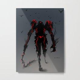 Red Clan Dominator Metal Print