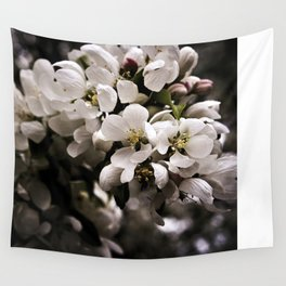 Apple Blossoms 3 Wall Tapestry