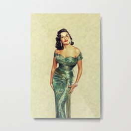 Jane Russell, Hollywood Legend Metal Print