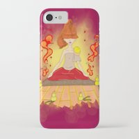 meditation iPhone & iPod Cases featuring Meditation by KeijKidz