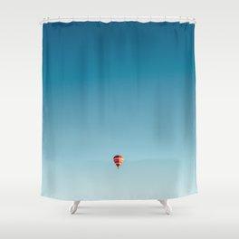 One little balloon Shower Curtain