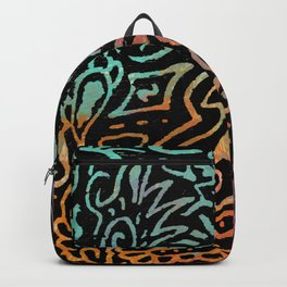 the layered acrylic one Backpack