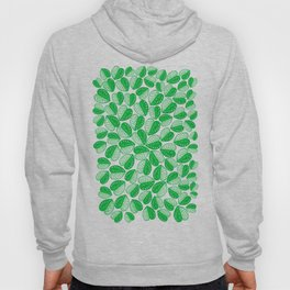 Monstera Leaf 2d Graphic Pattern Hoody