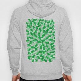 Monstera Leaf 2d Graphic Pattern Hoody