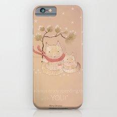 Christmas creatures- Kitties in love Slim Case iPhone 6s