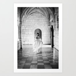 Bohemian Bride Art Print