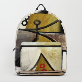 Compotier and glassware - Digital Remastered Edition Backpack