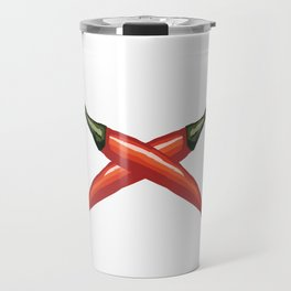 Red Chili Peppers Travel Mug