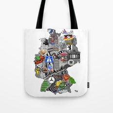 Germany Doodle Tote Bag