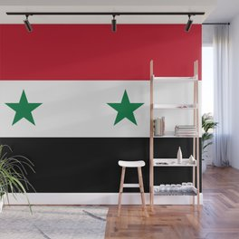 Flag of Syria Wall Mural