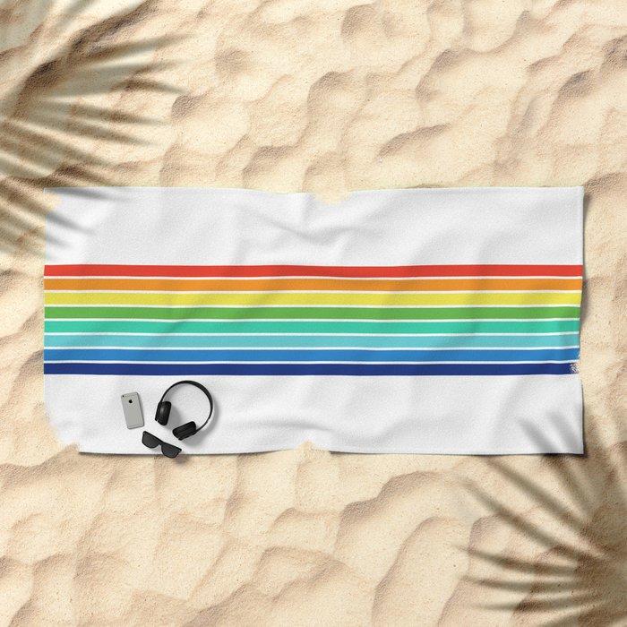 Vintage T-shirt No14 Beach Towel