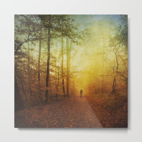fall world Metal Print