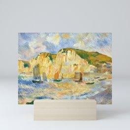 Auguste Renoir Sea and Cliffs Mini Art Print