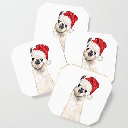 Christmas Llama Coaster