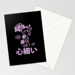 Yami Kawaii Pastel Goth Rose Hopeless Aesthetic Anime Gift Stationery Cards