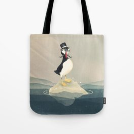 Lord Puffin Tote Bag