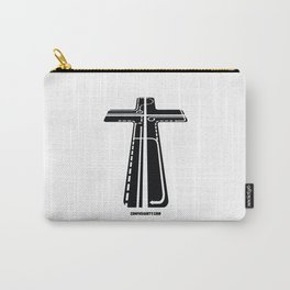 Confusianity (black on white) Carry-All Pouch