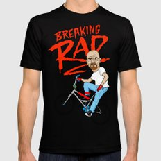 Breaking Rad X-LARGE Mens Fitted Tee Black