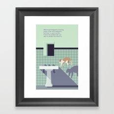 koscheck Framed Art Print