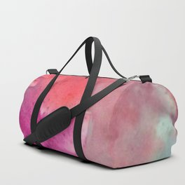 Abstract in Pink Duffle Bag