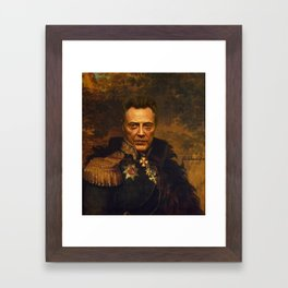 Christopher Walken - replaceface Framed Art Print