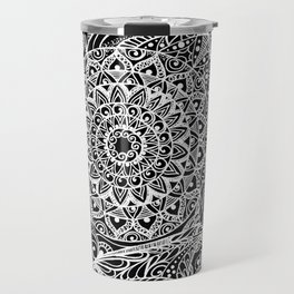 Mandala of deep meditation Travel Mug