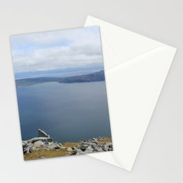 Isle of Eigg viewed from the Isle of Rum Stationery Cards