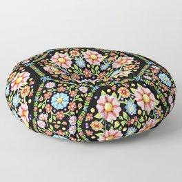 Millefiori Floral Floor Pillow