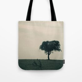 STAND ALONE IN THE WIND Tote Bag