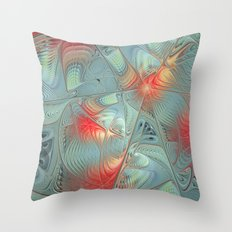 String Theory Fractal Art Throw Pillow