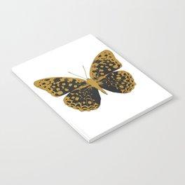 Black Butterfly Notebook