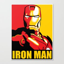 Iron Man Canvas Print