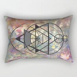 Crop Circles Rectangular Pillow