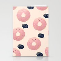 eat Stationery Cards featuring Eat Me by Nan Lawson