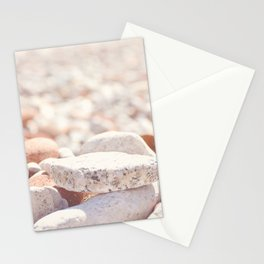 AFE Beach Rocks, Beach Photography Stationery Cards