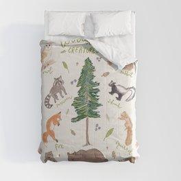 Woodland Creatures Chart Comforters