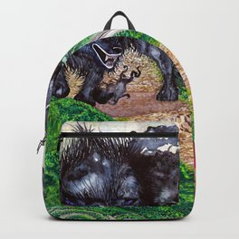 The beast and the knight Backpack