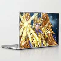 saga Laptop & iPad Skins featuring Gemini Saga by Studio Kawaii